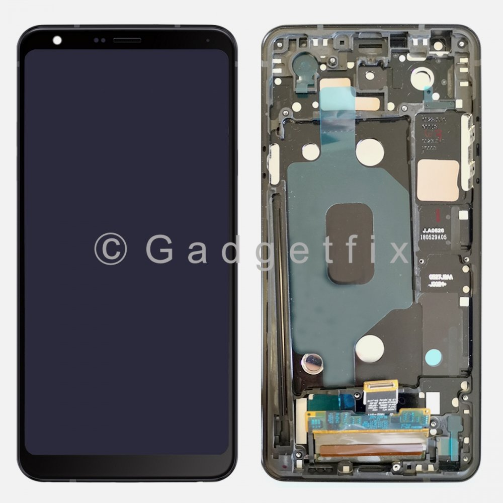 "LG Stylo 4 Q710 Q710MS 6.2"" LCD Display Touch Screen Digitizer Assembly + Frame"