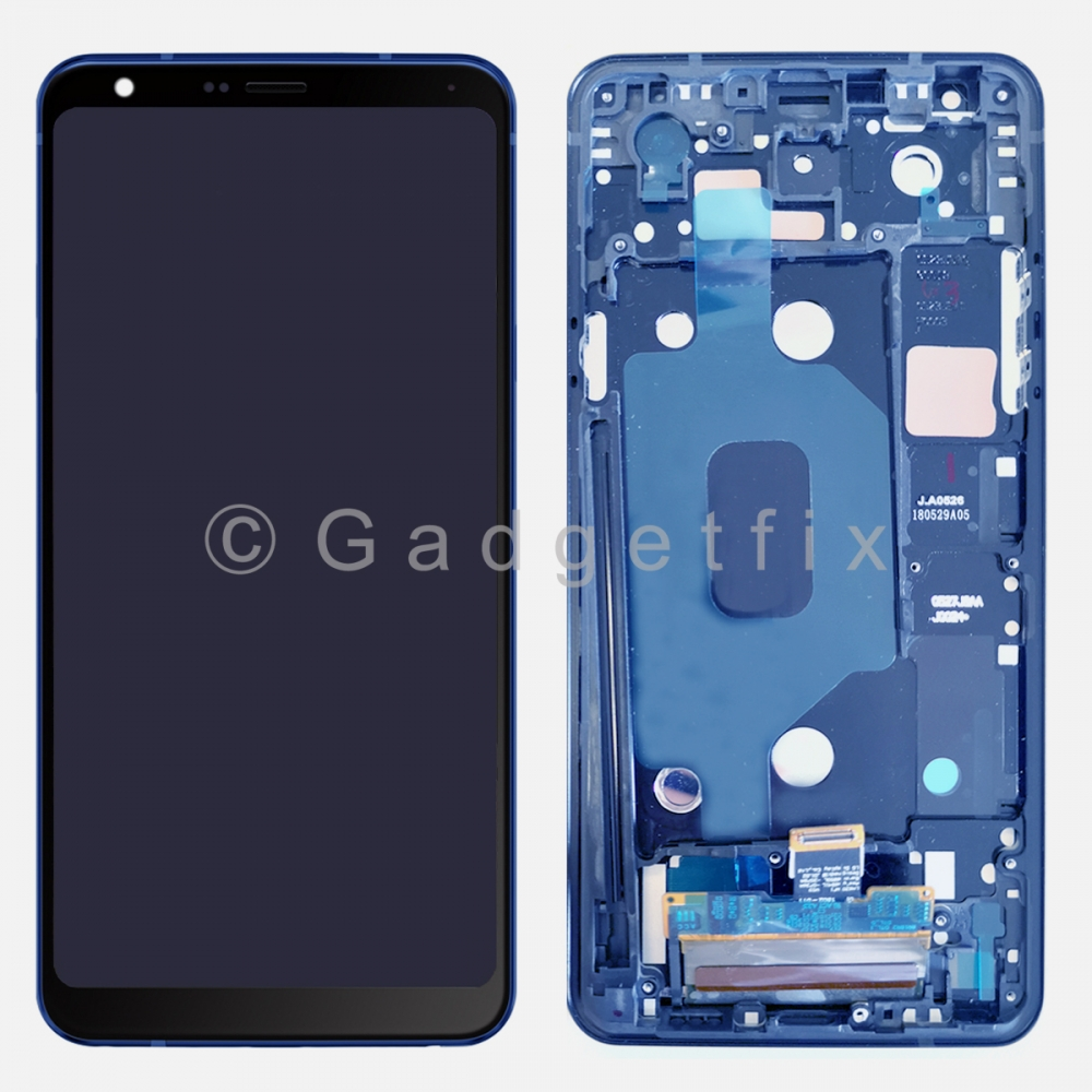 Blue LG Stylo 4 | Stylo 4 Plus Q710 Q710MS LCD Display Touch Screen Digitizer + Frame