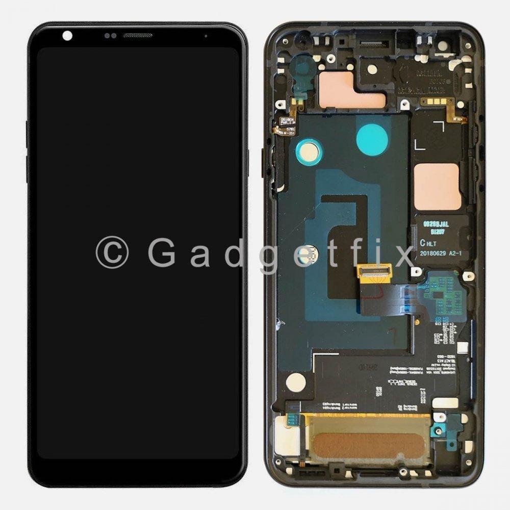 LG Q7 Q610 Q610TA   Q7 Plus Q725 Display LCD Touch Screen Digitizer + Frame
