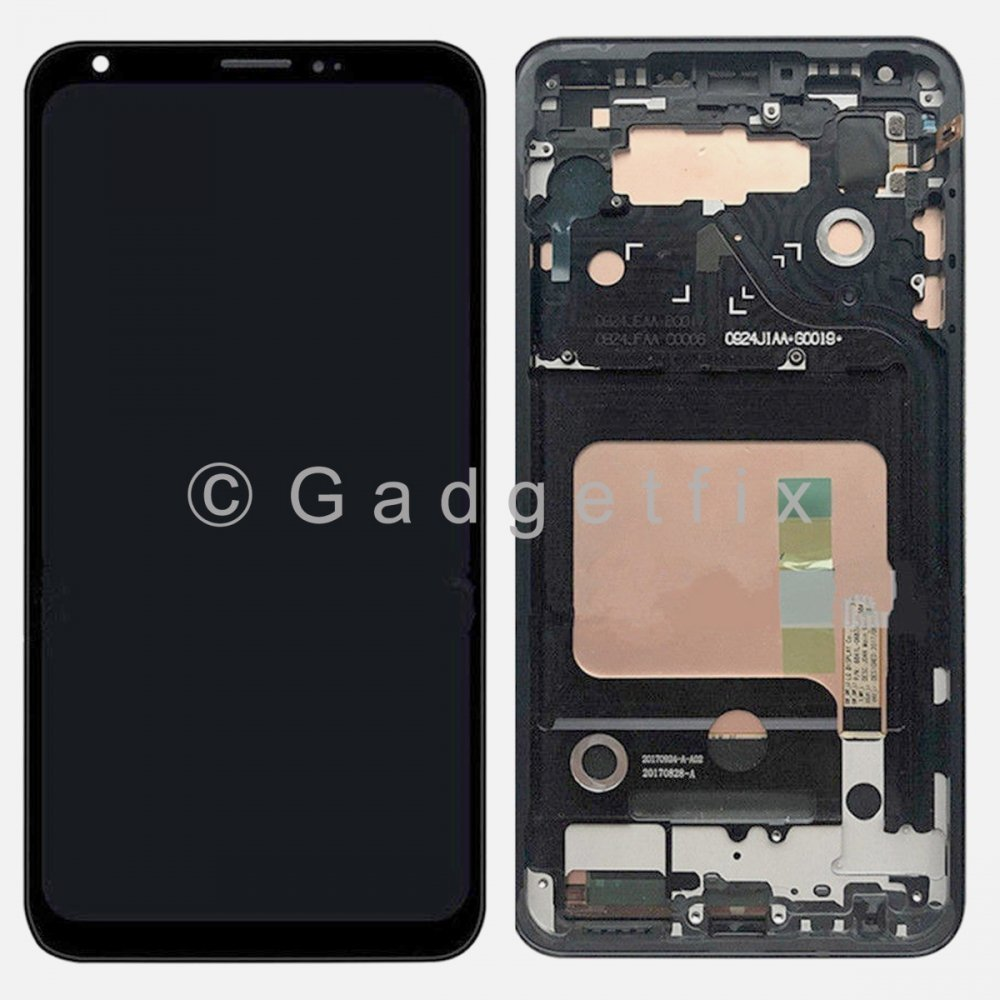 LCD Display Touch Screen Digitizer Assembly w/ Frame For LG V35 ThinQ