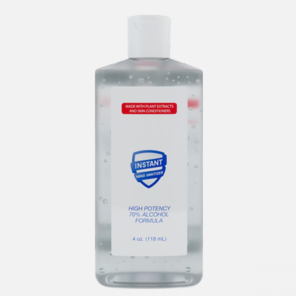 70% Alcohol Rinse-Free Antibacterial Hand Sanitizer Gel 118ml (4 oz)| Kills 99.9% of Bacteria