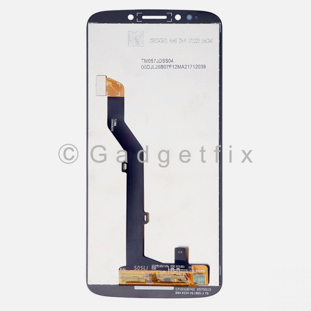 Black Display LCD Touch Screen Digitizer Assembly For Motorola Moto E5 XT1944