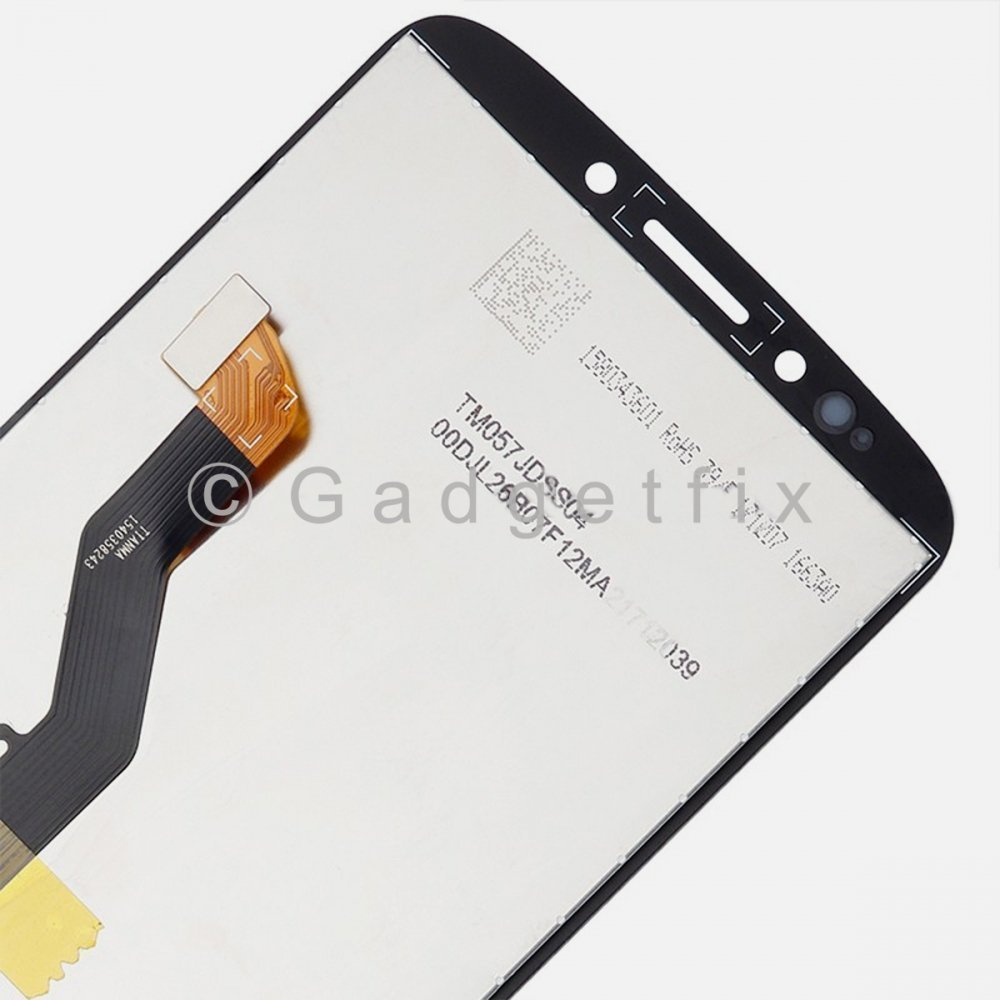 Black Motorola Moto G6 Play XT1922 LCD Display Touch Screen Digitizer Assembly