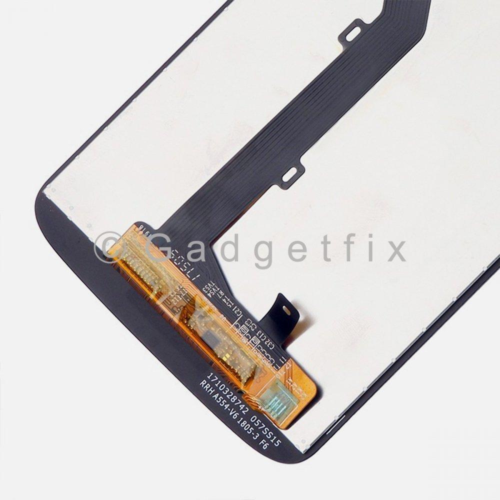 Black LCD Display Touch Screen Digitizer Assembly Motorola Moto G6 Play XT1922