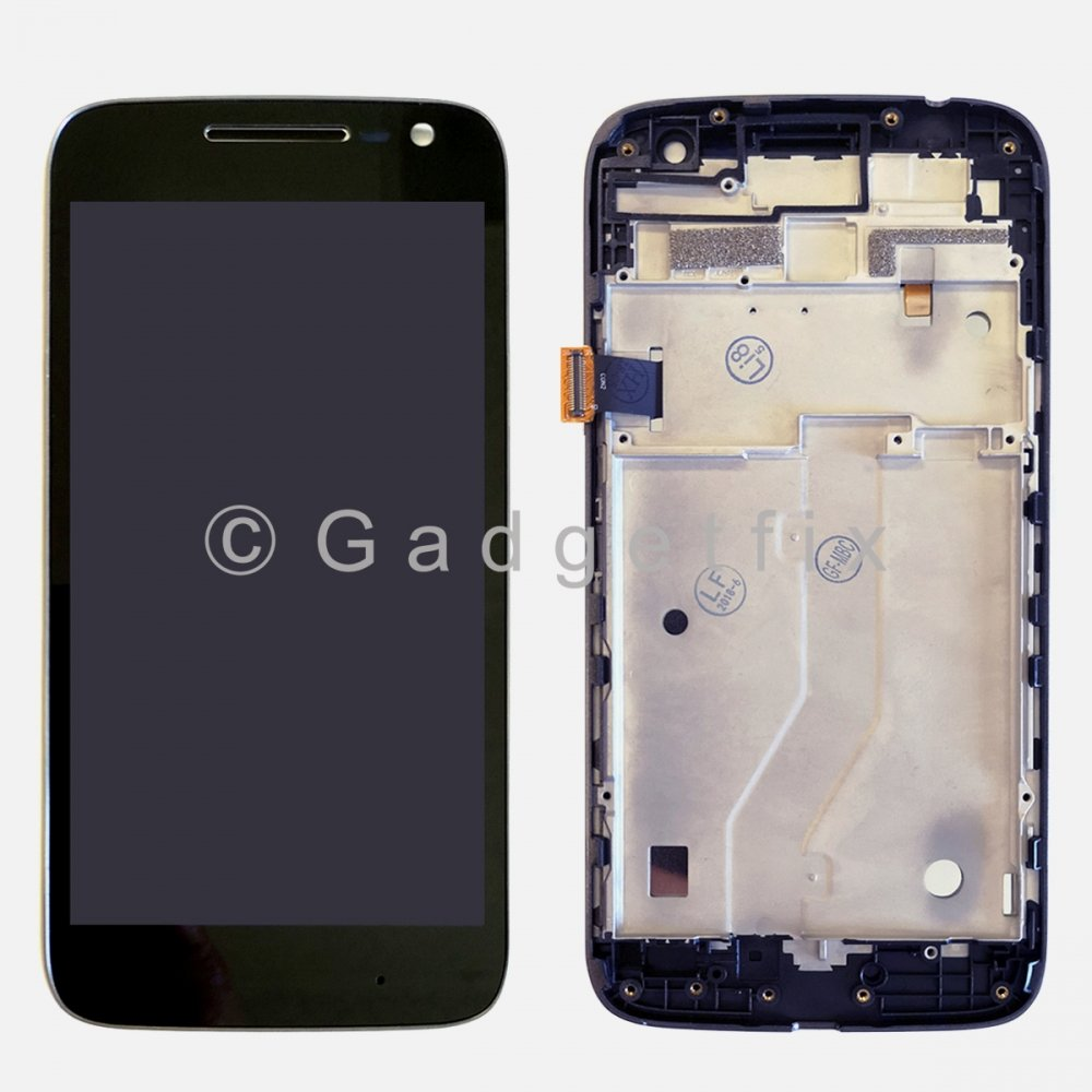LCD Touch Screen Digitizer Frame For Motorola Moto G4 Play XT1607 XT1601 XT1609