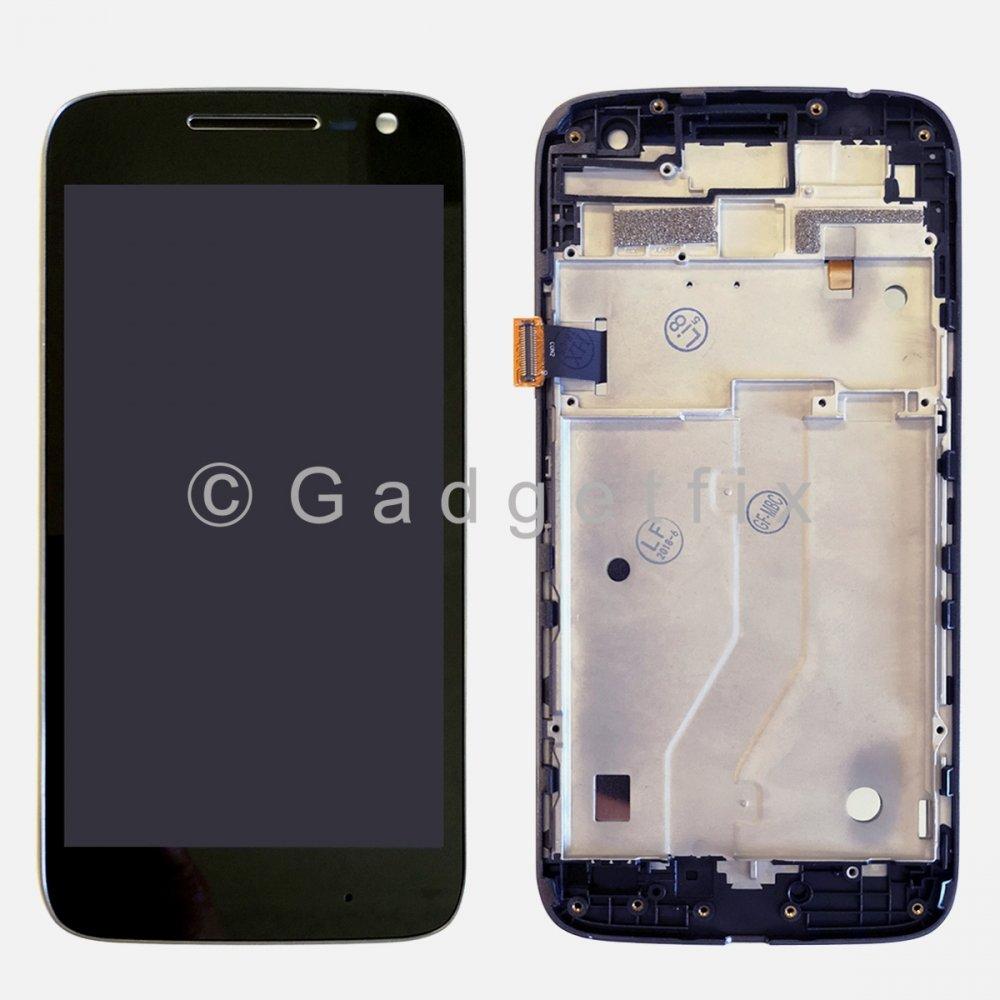 LCD Touch Screen Digitizer Frame For Motorola Moto G4 Play XT1607 XT1601 XT1609