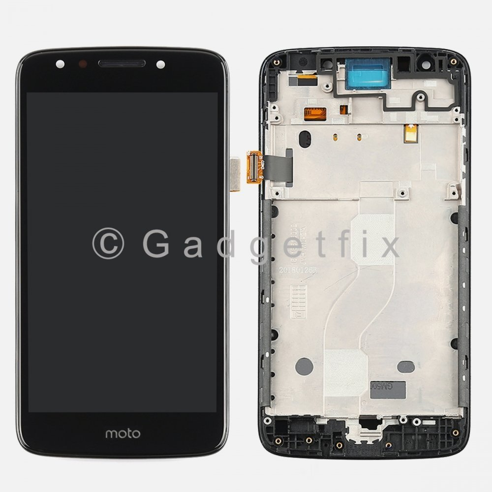 LCD Display Touch Screen Digitizer + Frame For Motorola Moto E4 XT1765 XT1766