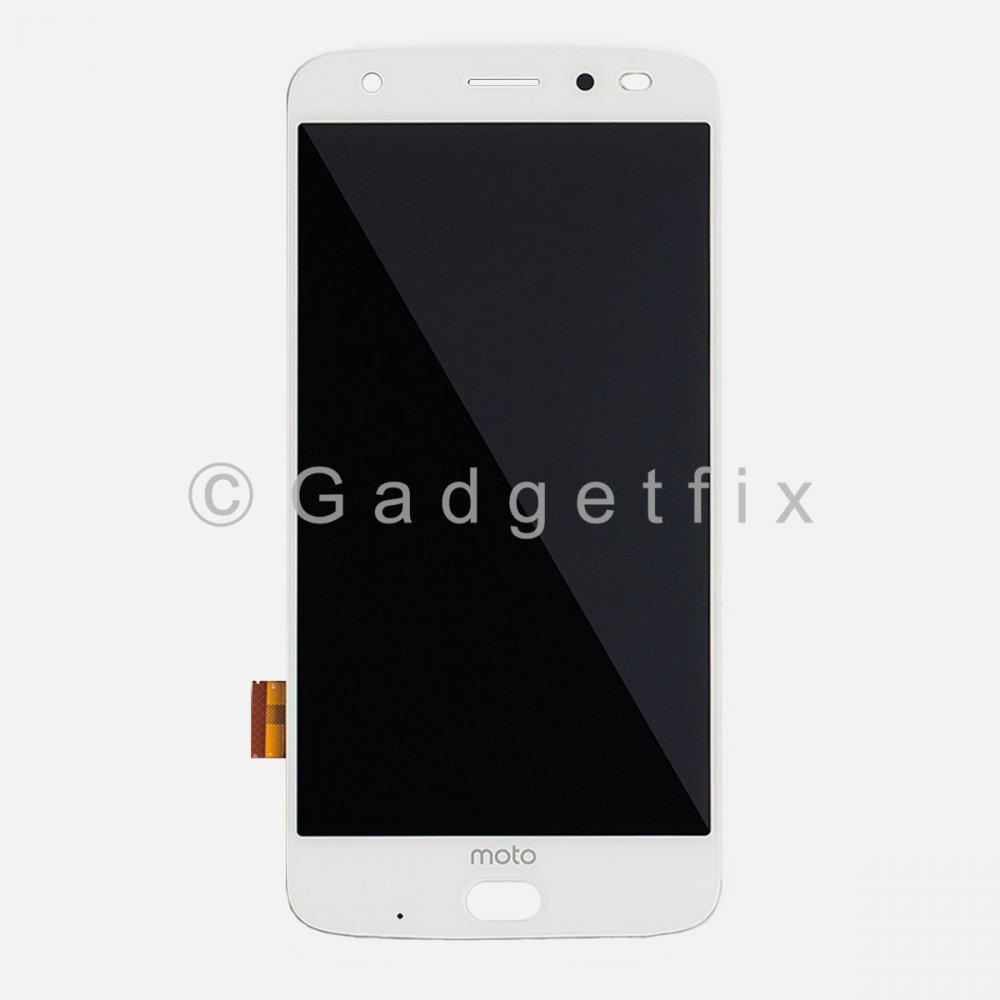 White Motorola Z2 Force XT1789 LCD Screen Display Digitizer Touch Assembly