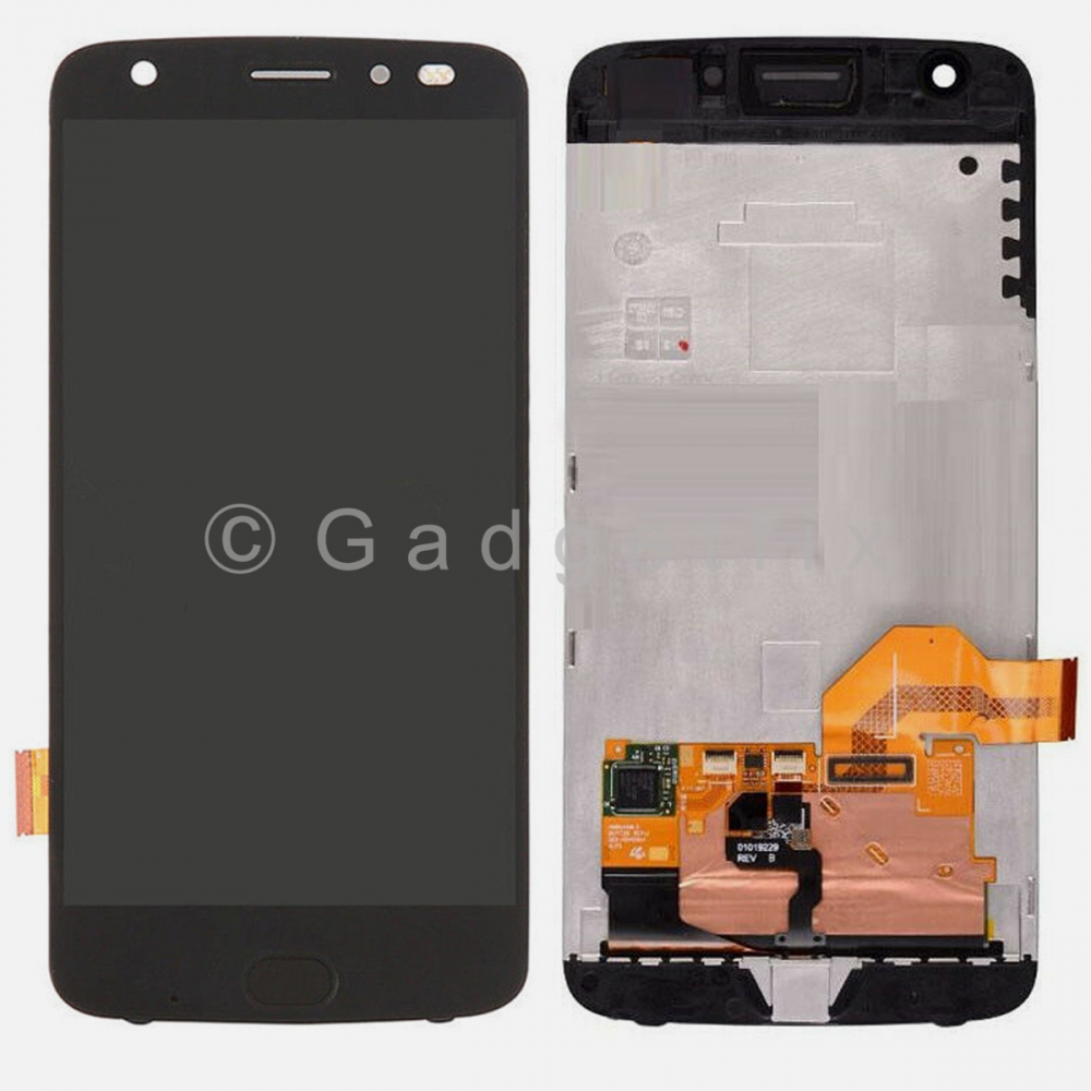 Motorola Z2 Force XT1789 LCD Screen Display Digitizer Touch Assembly w/ Frame