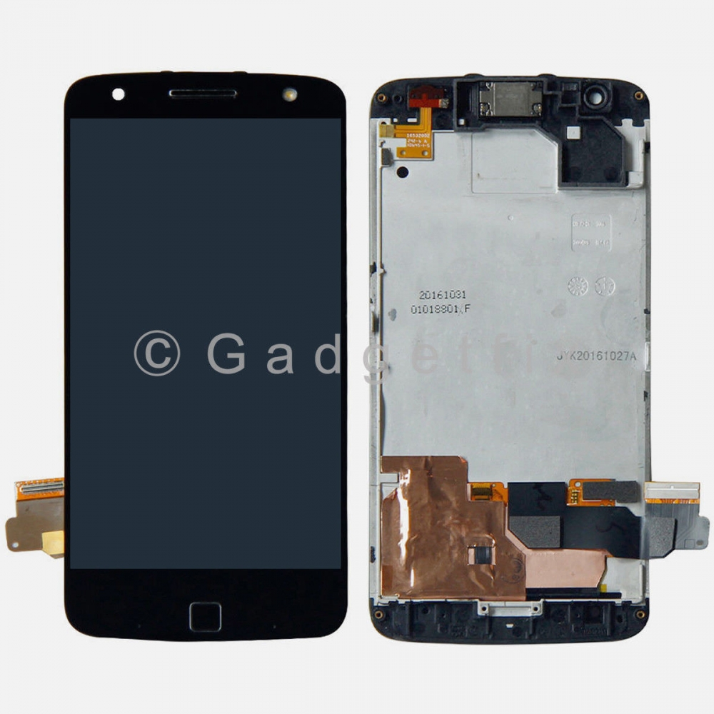 LCD Display Touch Screen Digitizer Frame For Motorola Moto Z Force XT1650-02