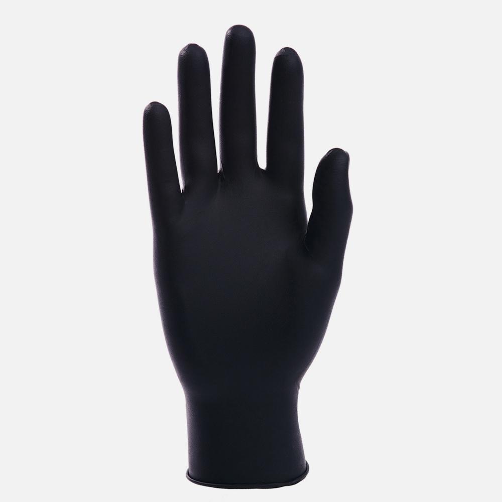100 5 Mil Black Nitrile Powder Free | Latex Free Exam Gloves Size Small