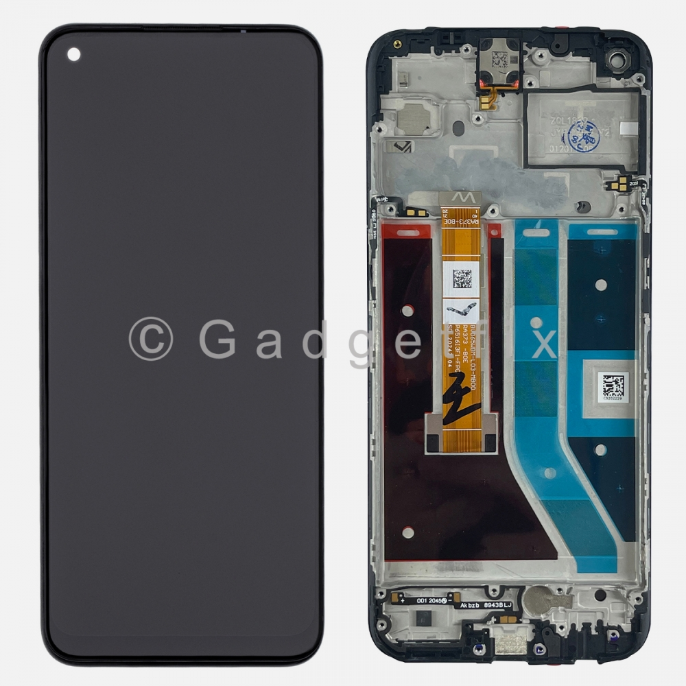 Display LCD Screen Touch Screen Digitizer + Frame For Oneplus Nord N100