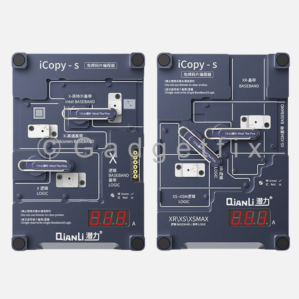 QianLi iCopy-S Double Side Chip Test Frame for iPhone X | XR | XS | XS MAX