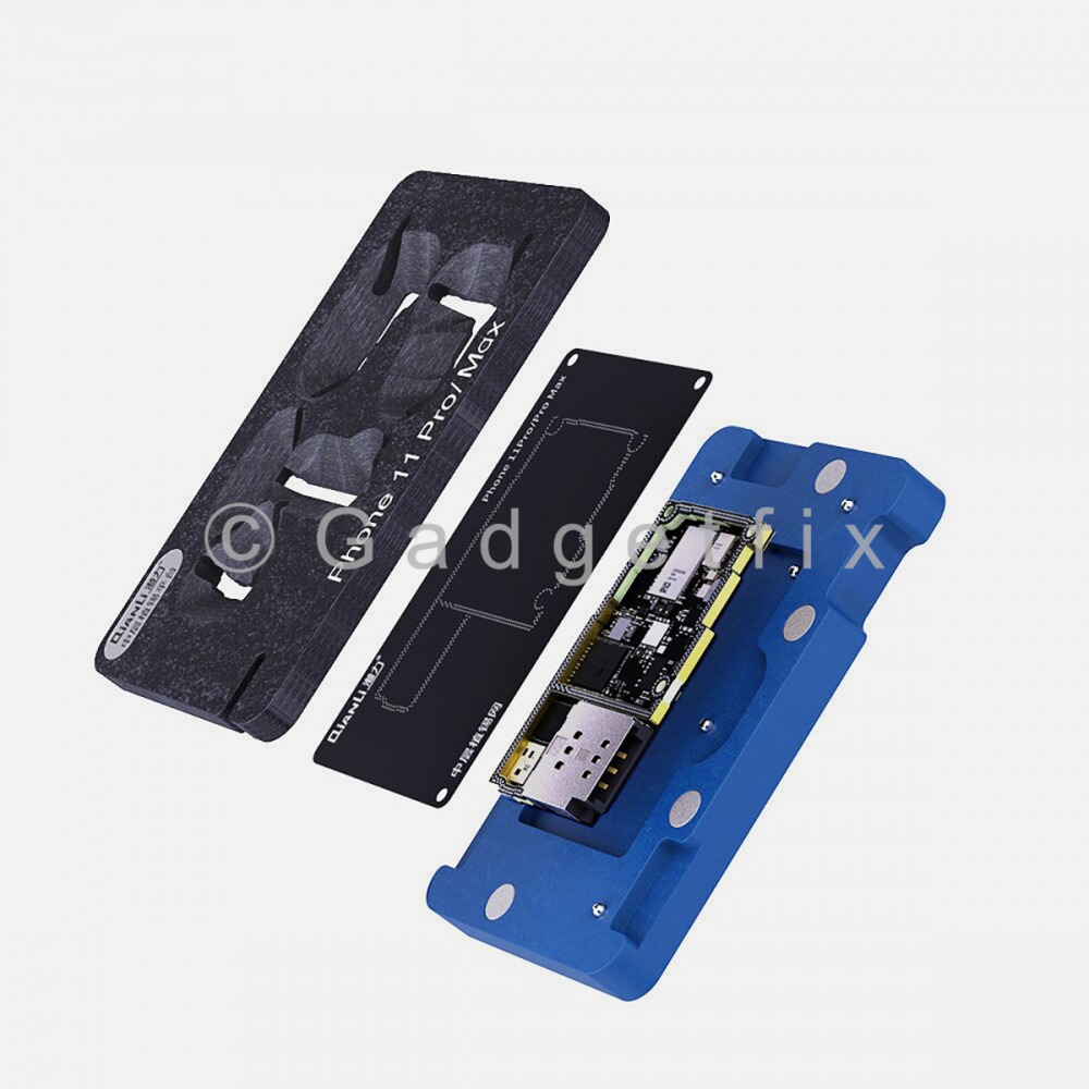 QianLi Middle Frame Reballing Platform Motherboard Soldering for iphone 11 Pro | 11 Pro Max