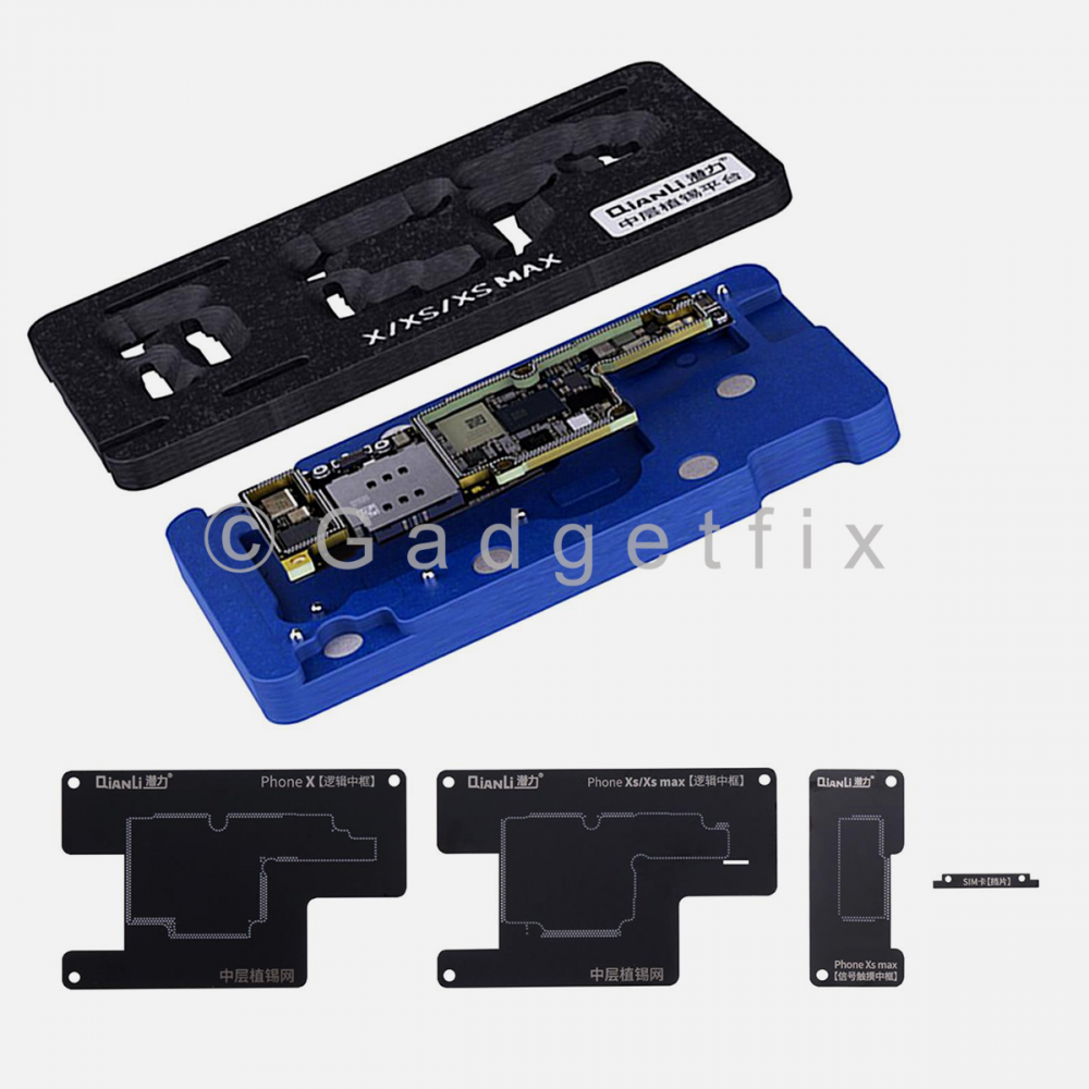QianLi Middle Frame Reballing Platform Motherboard Soldering for iphone X | XS | XS Max