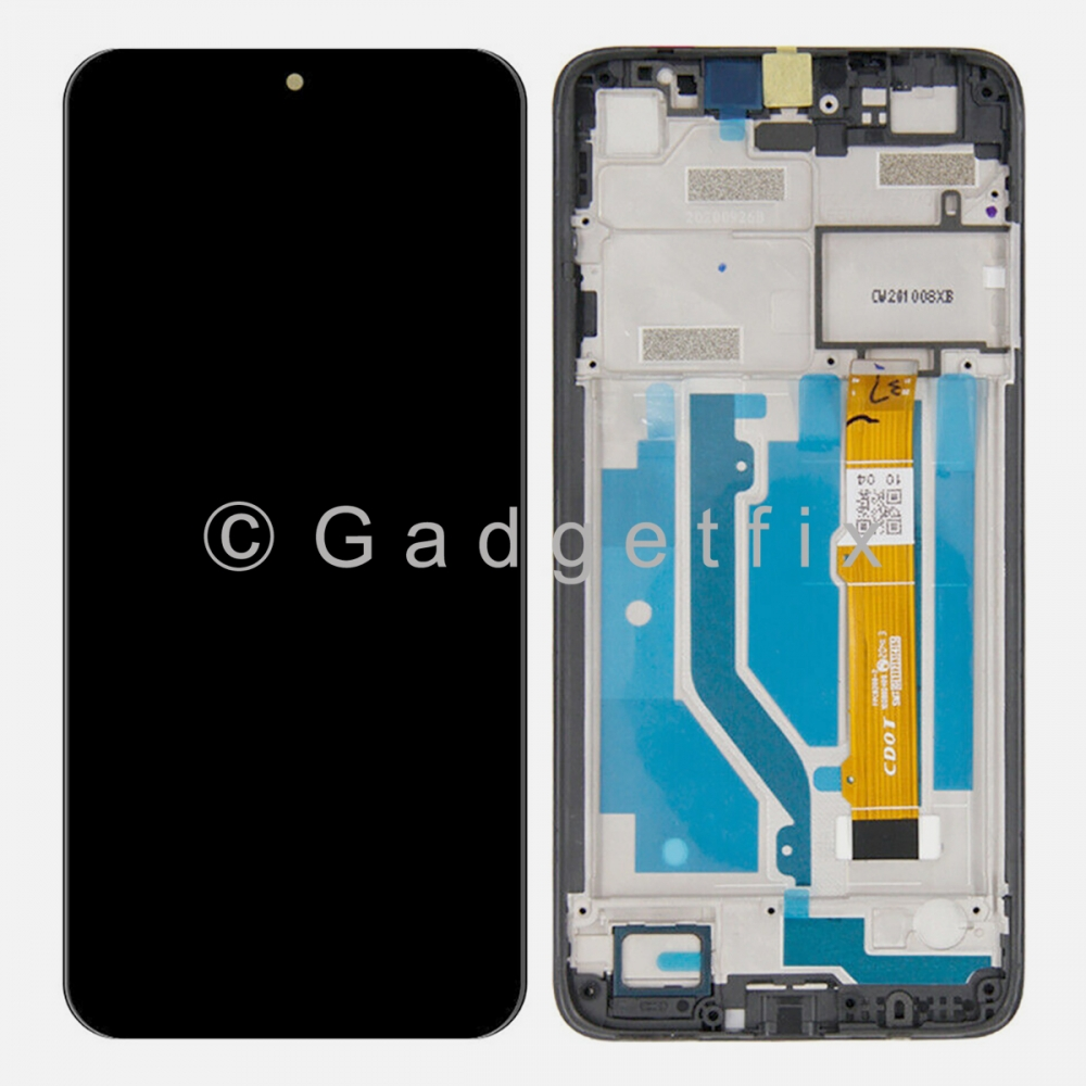 T-Mobile REVVL 4 5007W | 5007Z Display LCD Touch Screen Digitizer + Frame