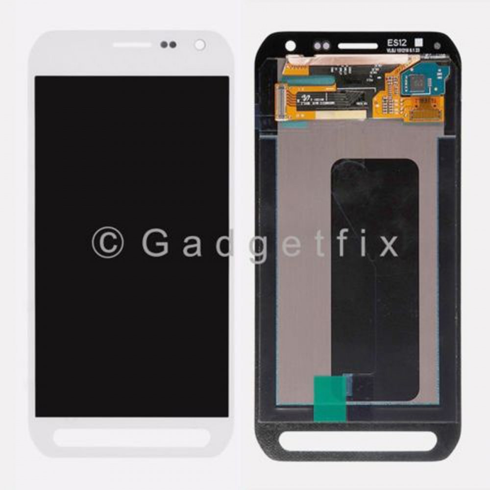White Samsung Galaxy S6 Active G890 G890A LCD Display Touch Screen Digitizer