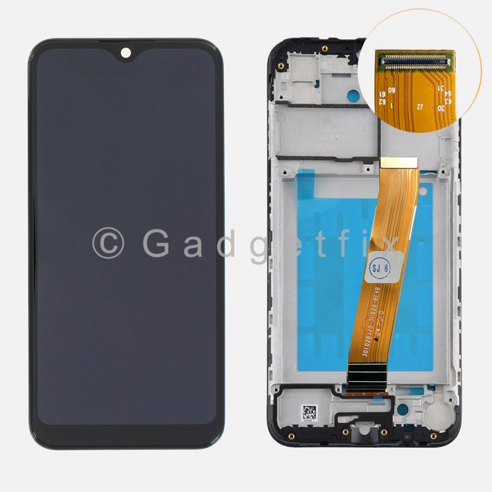 Samsung Galaxy A01 A015 Display LCD Touch Screen Digitizer + Frame (Big Connector)