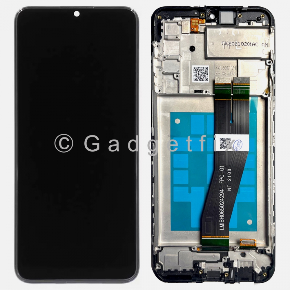 Display LCD Touch Screen Digitizer + Frame For Samsung Galaxy A02S A025U (US Version)