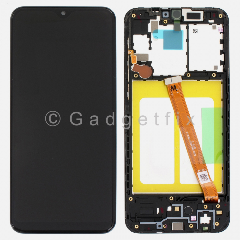 Display LCD Touch Screen Digitizer + Frame For Samsung Galaxy A20e 2019 A202