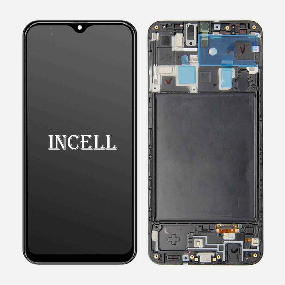 Incell Display LCD Touch Screen Digitizer + Frame For Samsung Galaxy A20 A205 A205U