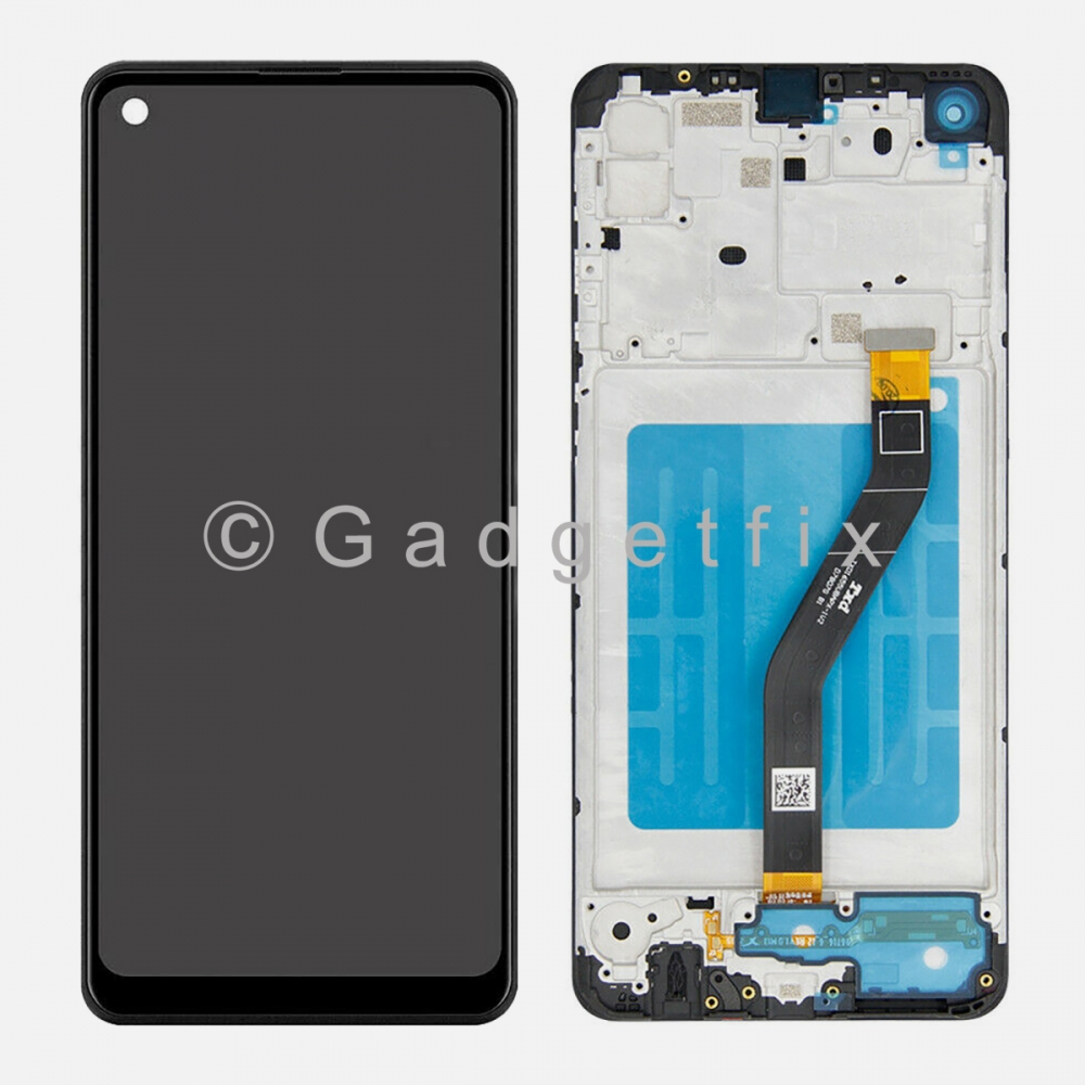 Samsung Galaxy A21 A215 Display LCD Touch Screen Digitizer + Frame