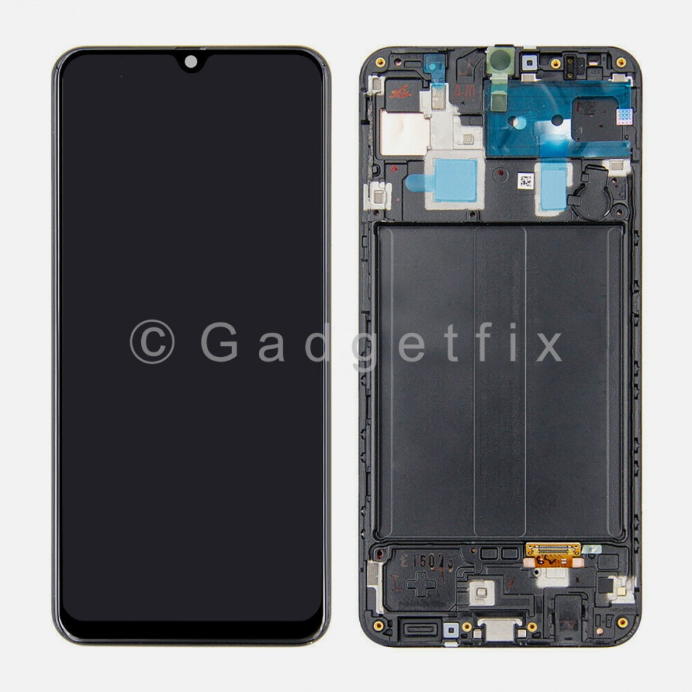 Incell Display LCD Touch Screen Digitizer + Frame For Samsung Galaxy A30 2019 A305