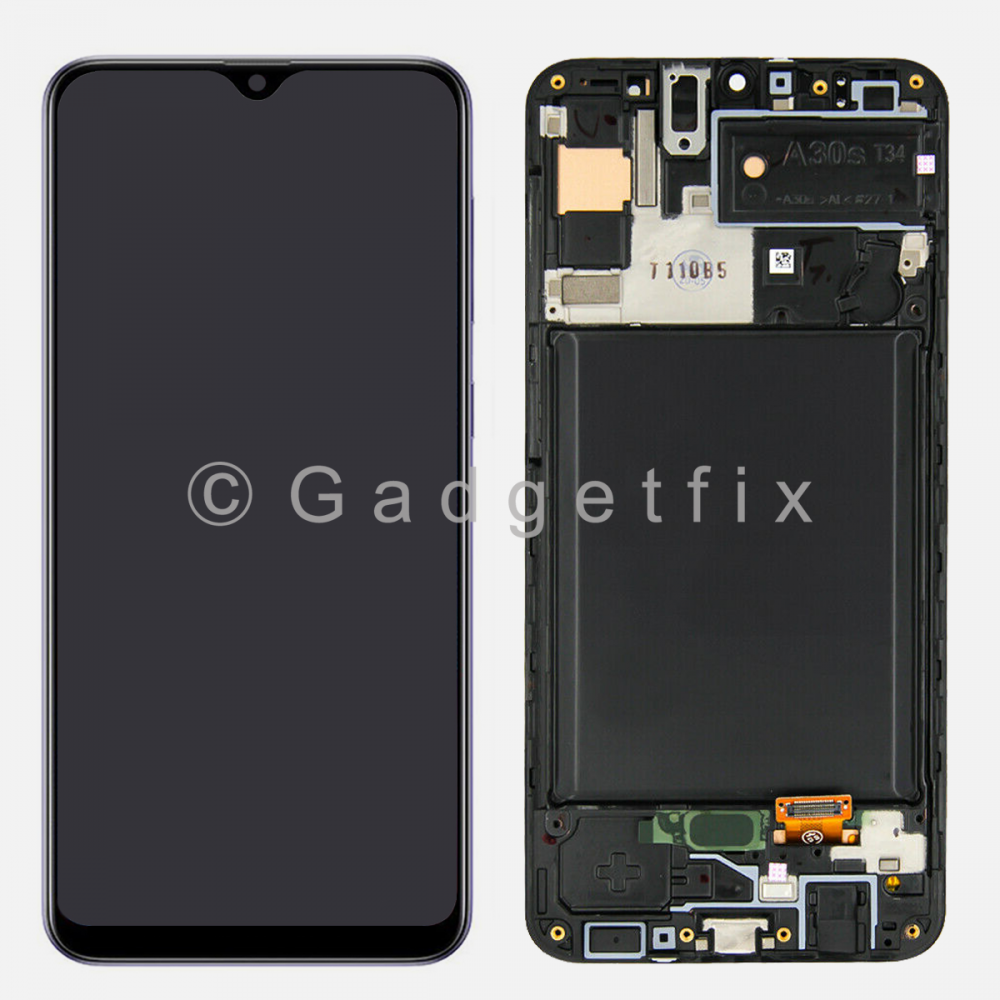 Display LCD Touch Screen Digitizer + Frame For Samsung Galaxy A30S A307 (TFT)