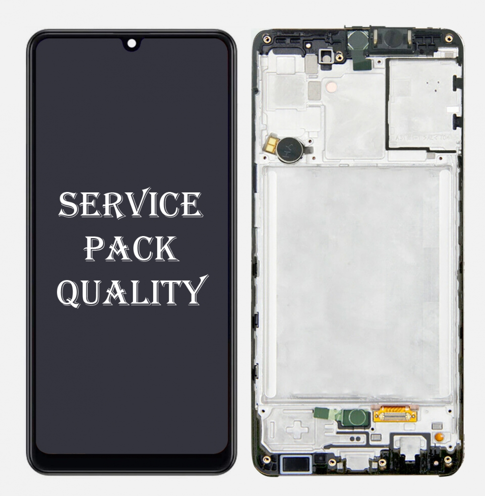 Samsung galaxy A31 2020 A315 Display LCD Screen Touch Digitizer Frame (Service Pack)