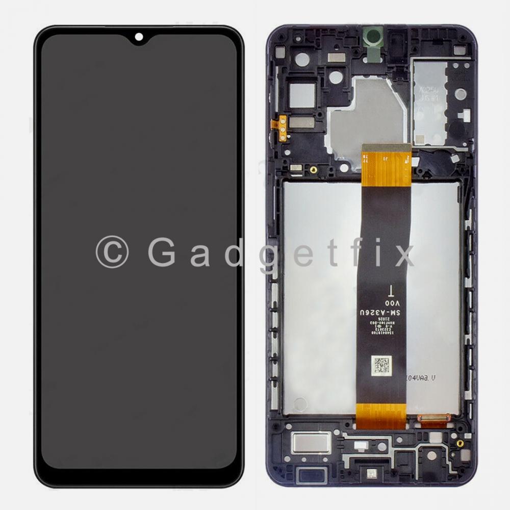 Samsung Galaxy A32 5G 2021 SM-A326U Display LCD Touch Screen Digitizer Frame (US Version)