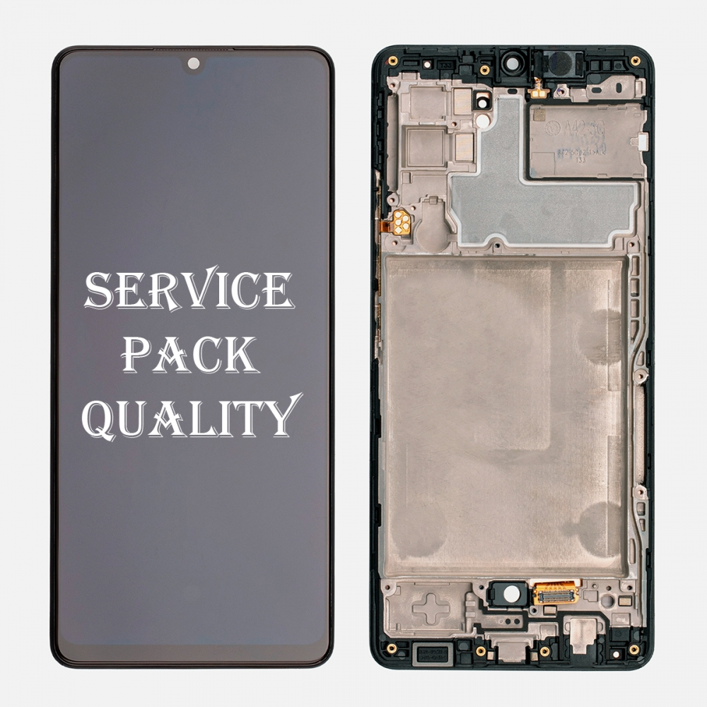 OLED Display LCD Touch Screen Digitizer Frame for Samsung Galaxy A42 5G A426 (Service Pack)