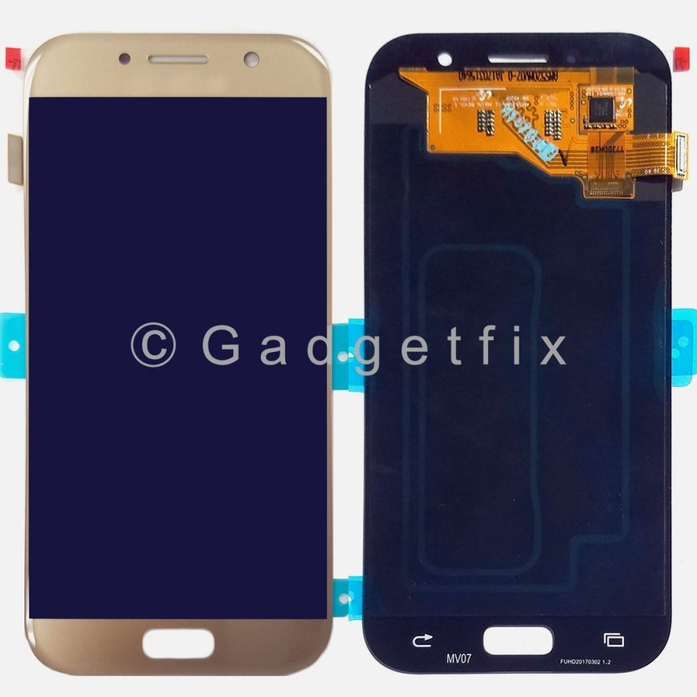 Gold Display LCD Touch Screen Digitizer For Samsung Galaxy A5 2017 A520 A520F