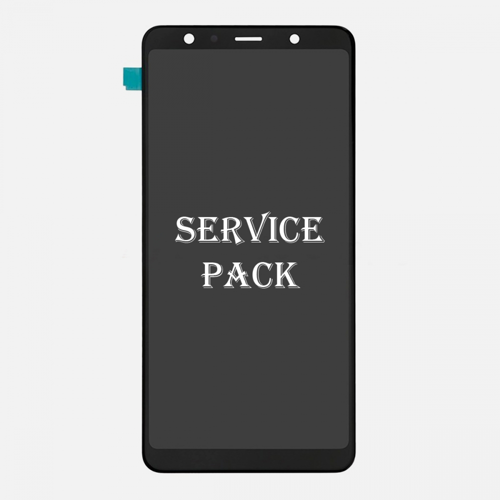Super AMOLED Display LCD Touch Screen Digitizer For Samsung Galaxy A7 2018 A750 (Service Pack)