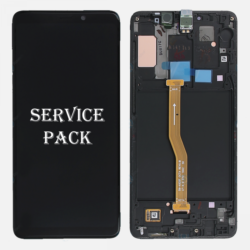 Samsung Galaxy A9 2018 A920 Amoled Display LCD Touch Screen Digitizer + Frame (Service Pack)