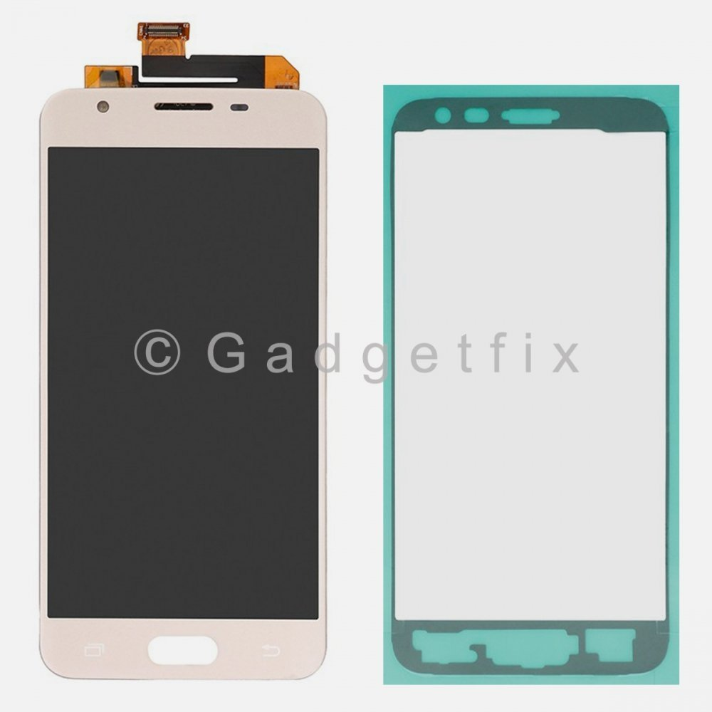Gold Samsung Galaxy J5 Prime G570 G570M G5700 G570F LCD Display Touch Screen Digitizer