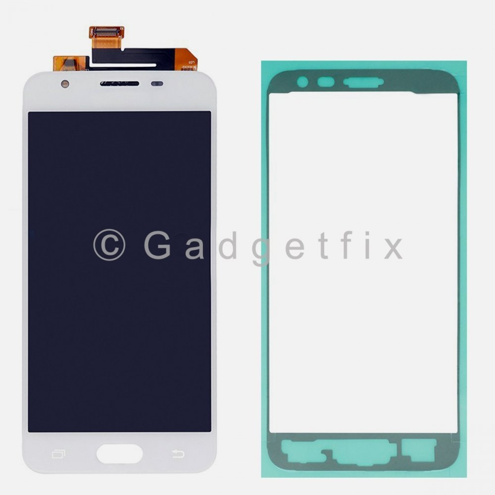 White Samsung Galaxy J5 Prime G570 G570M G5700 G570F LCD Display Touch Screen Digitizer