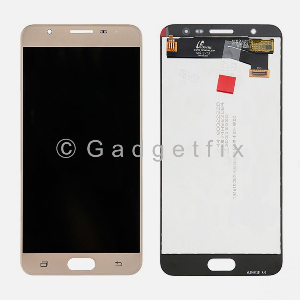 Gold LCD Display Touch Screen Digitizer For Samsung Galaxy J7 Prime G610 G610F G610M