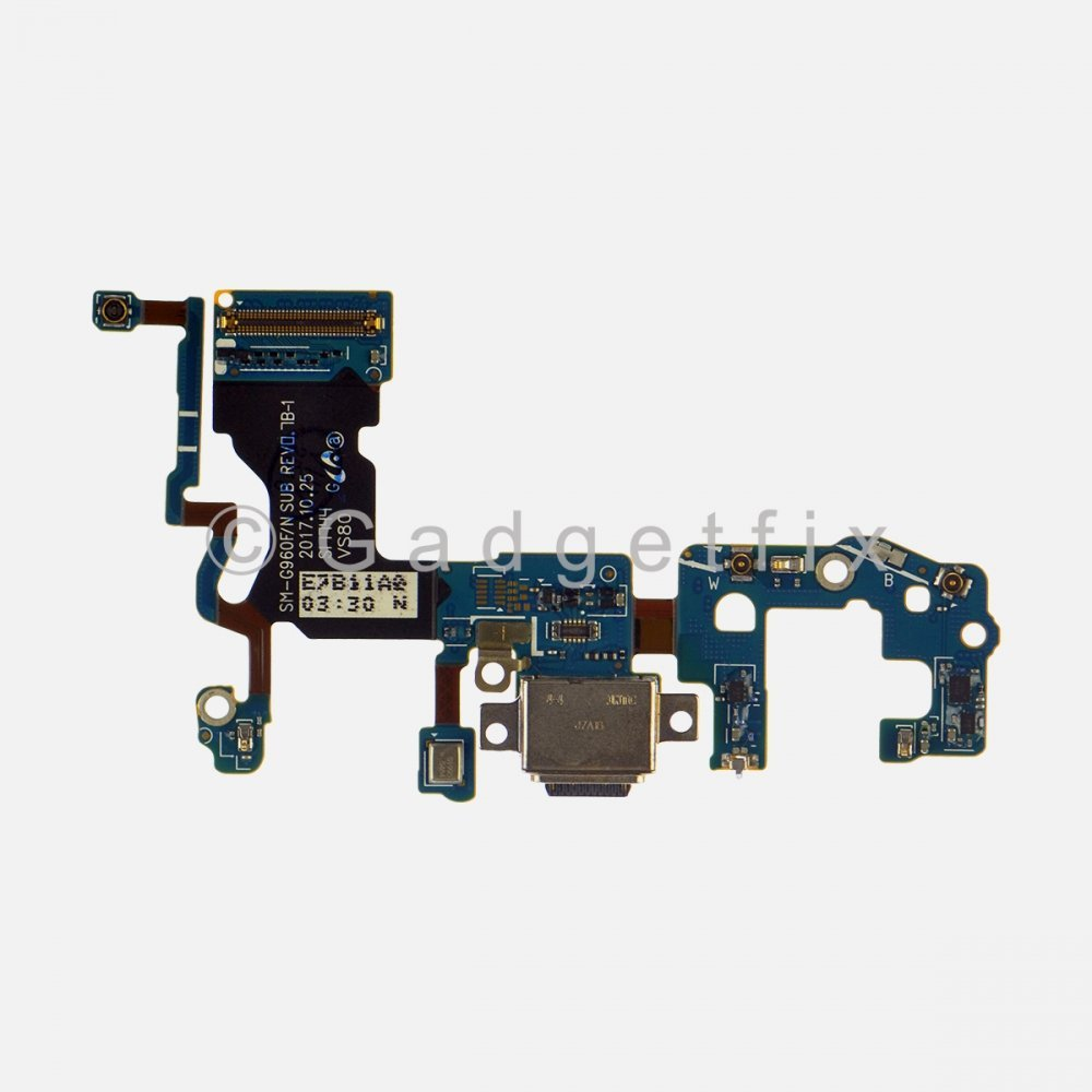 USB C Charging Port Flex Cable for Samsung Galaxy S9 G960F (International Version)