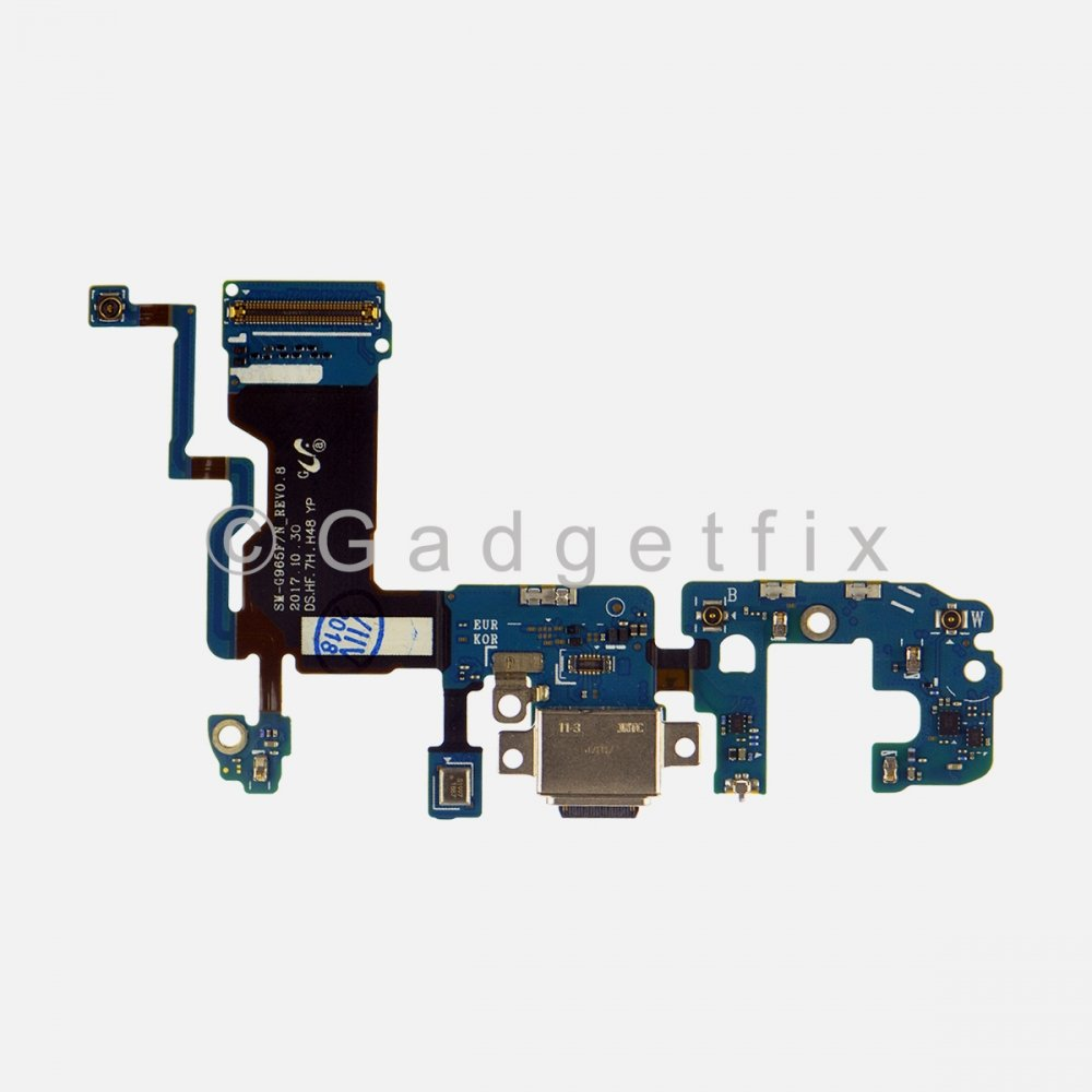 USB C Charging Port Flex Cable for Samsung Galaxy S9 Plus G965F (International Version)