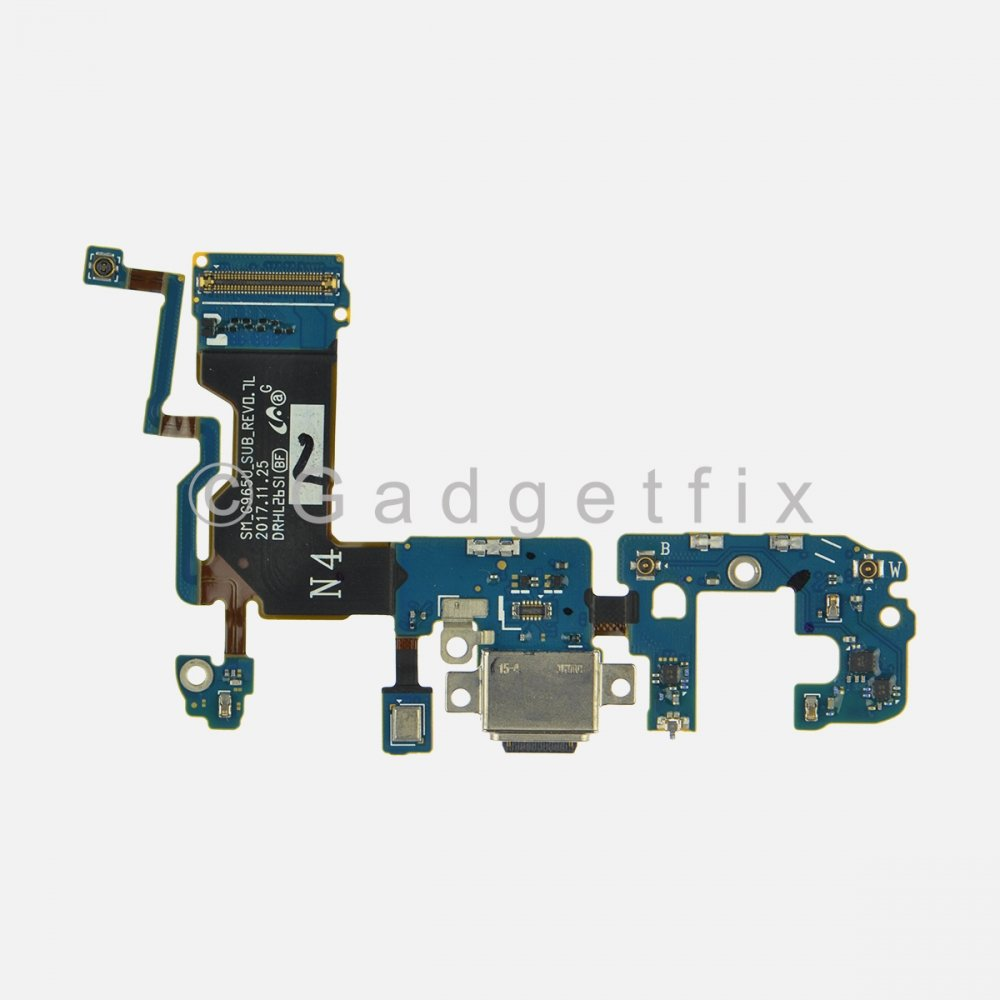 USB C Charging Port Flex Cable for Samsung Galaxy S9 Plus G965U (USA Version)