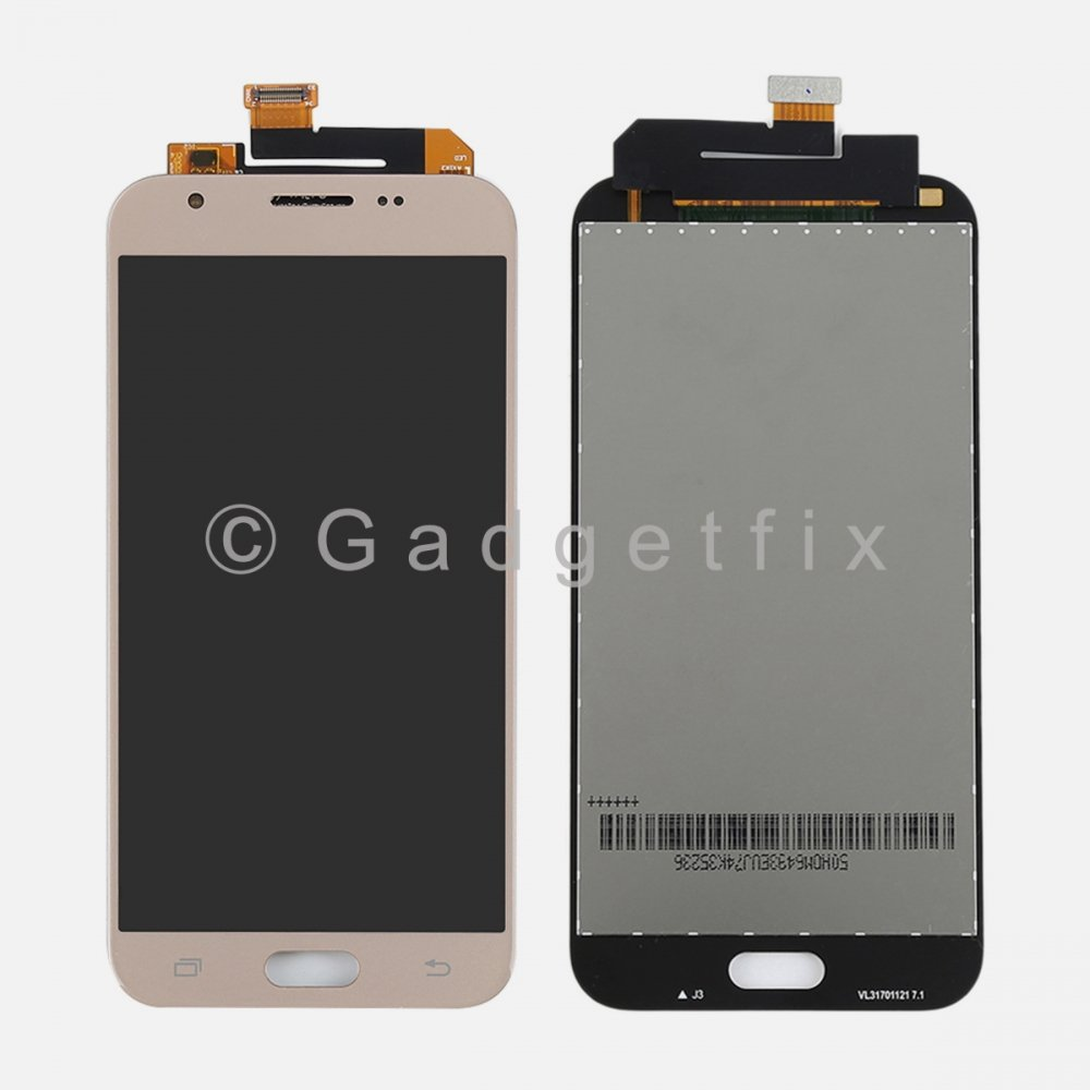 Gold Display LCD Touch Screen Digitizer For Samsung J3 2017 Prime | Emerge J327 J327T J327T1