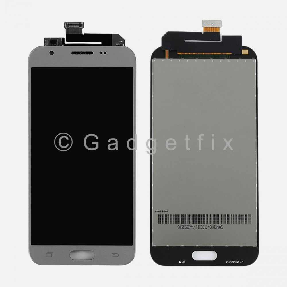 Silver Display LCD Touch Screen Digitizer For Samsung J3 2017 Prime | Emerge J327 J327T J327T1