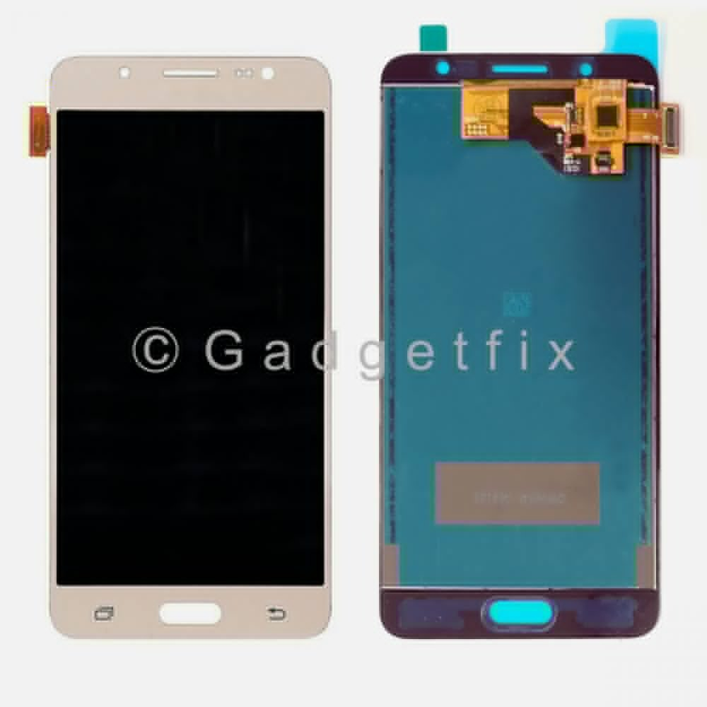 Gold Samsung Galaxy J5 2016 J510M J510F J510FN LCD Display Touch Screen Digitizer