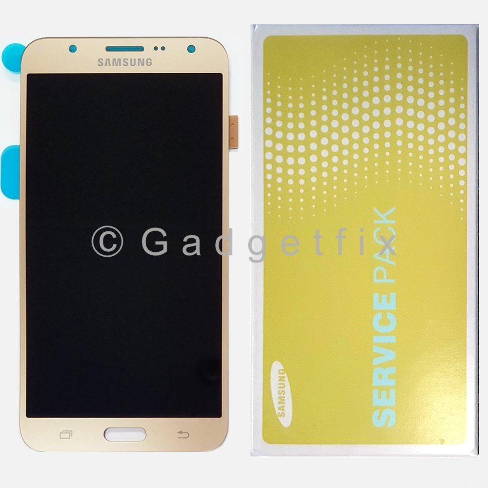 OEM Gold Samsung Galaxy J7 J700 J700F J700P LCD Display Touch Screen Digitizer