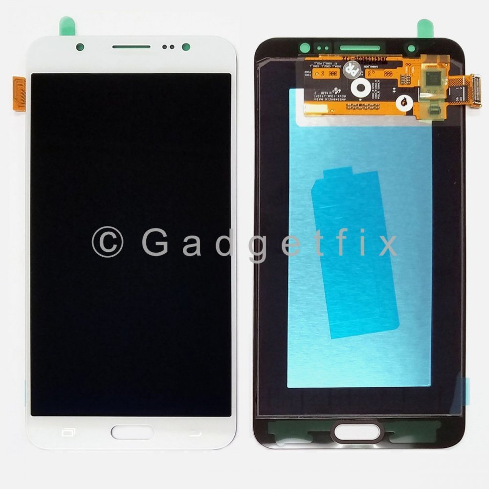 White Samsung Galaxy J7 2016 J710 J710F J710K J710MN J7108 Display LCD Touch Screen Digitizer