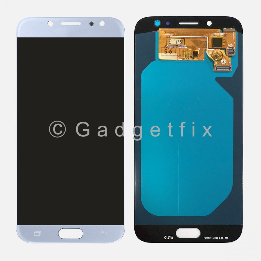 OLED Blue Samsung Galaxy J7 Pro 2017 J730 J730GM/DS J730F/DS LCD Display Touch Screen Digitizer