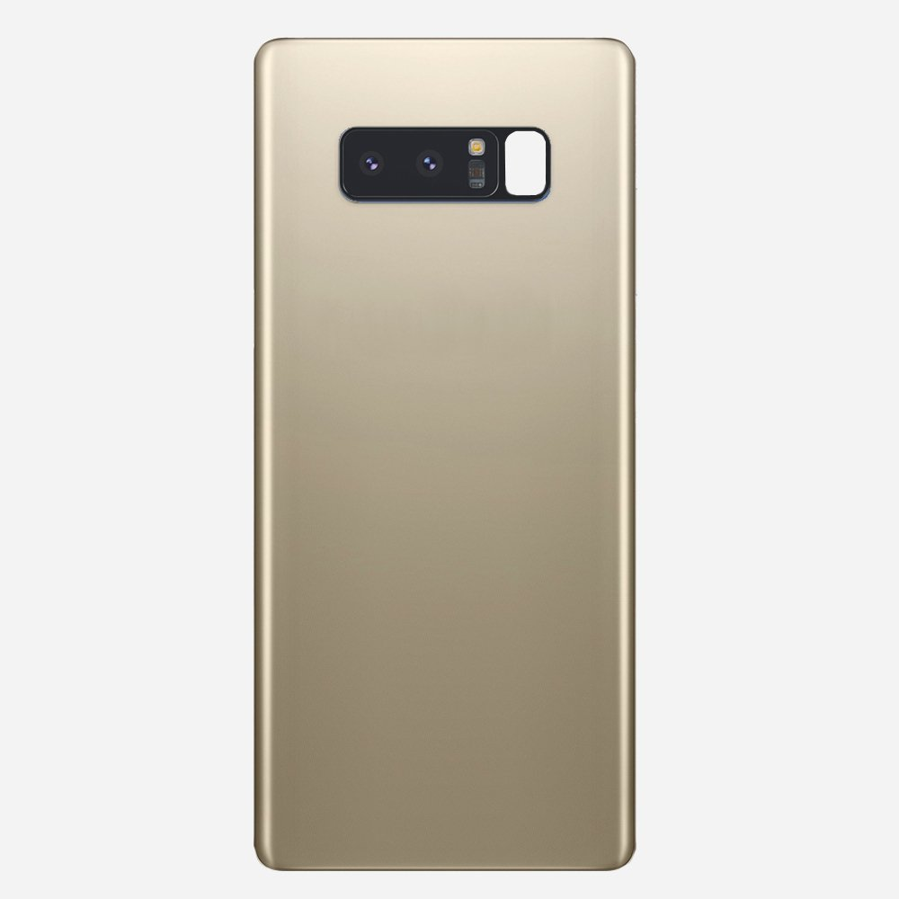 Gold Back Cover Glass Battery Door Camera Lens + Adhesive for Samsung Galaxy Note 8