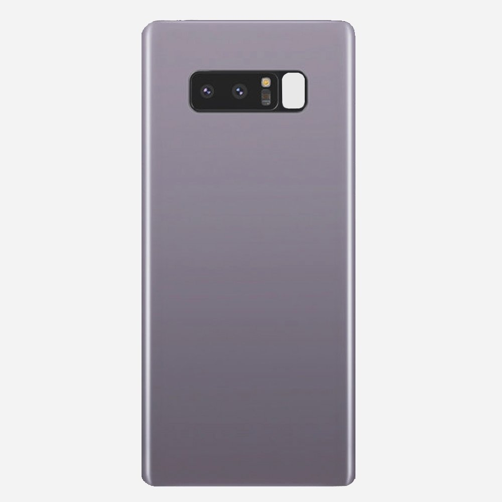 Orchid Gray Back Cover Glass Battery Door Camera Lens + Adhesive for Samsung Galaxy Note 8