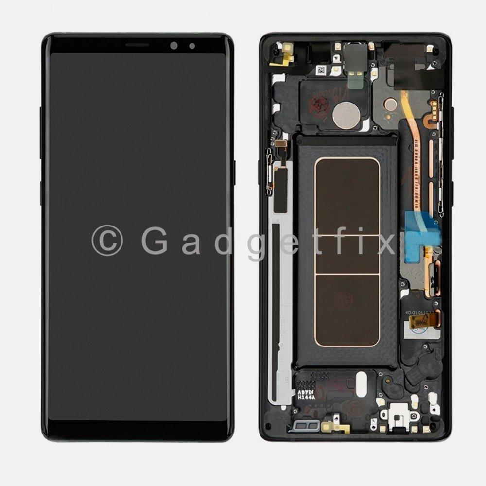 Black LCD Display Touch Screen Digitizer + Frame For Samsung Galaxy Note 8