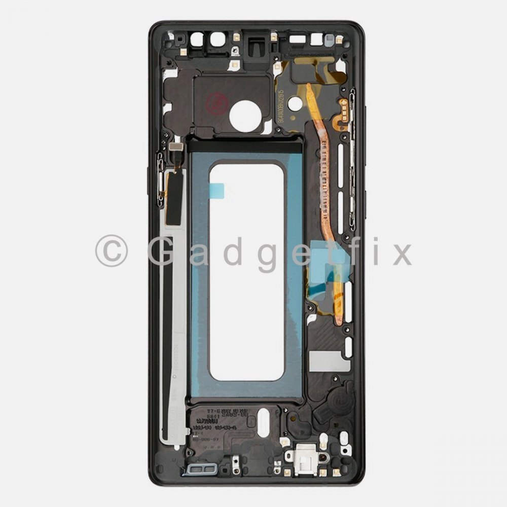 Black Samsung Galaxy Note 8 LCD Holder Middle Housing Frame Bezel Mid Chassis